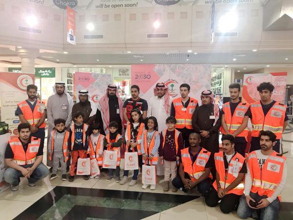 هلال #القصيم يُطلق معرض توعوي بمُناسبة اليوم العالمي للتطوع