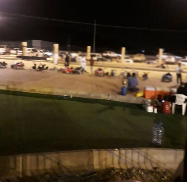 بالصور -درجات النارية في حديقة ثلوث المنظر ..ومُطالبات بتدخل بلدية #بارق