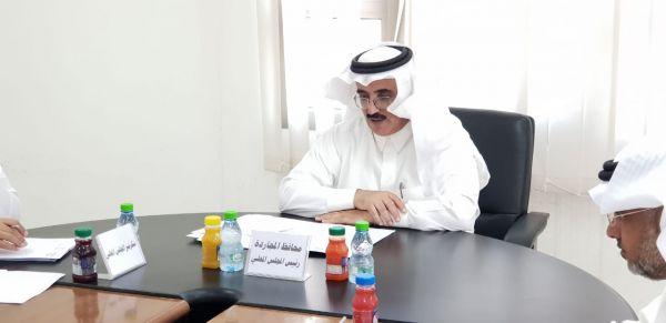 مُحافظ #المجاردة يترأس إجتماع المجلس المحلي في المُحافظة