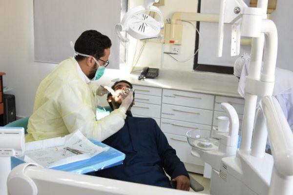 عيادتين تطوعية في مركز الأسنان التخصصي بحفرالباطن