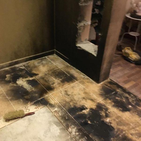 بالصور :مدني #الباحة يُخمد حريق منزل مواطن ببني كبير
