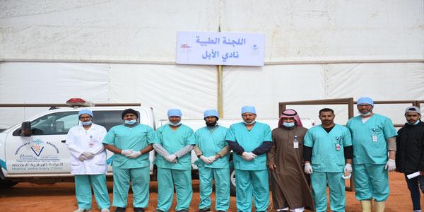 #جامعة_القصيم تشارك في اللجنة الطبية بمهرجان الملك عبدالعزيز للإبل