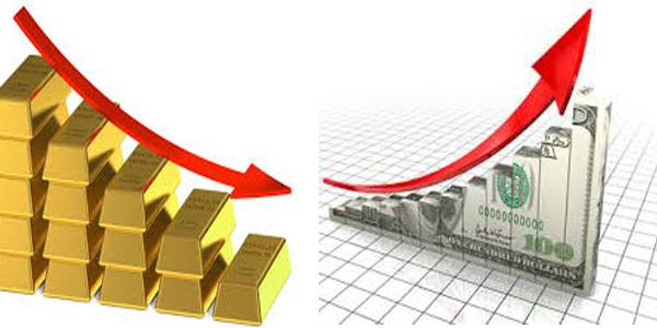 الدولار الأمريكي ينتعش امام هبوط الذهب