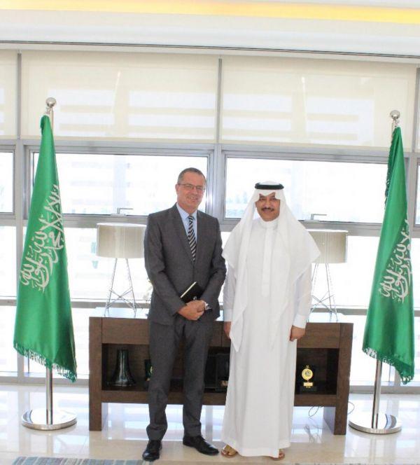 سفير المملكة لدى الأردن يستقبل السفير الإيرلندي