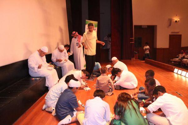 """فريق بجيلة التطوعي يقيم برنامج """"التعليم بالترفيه"""