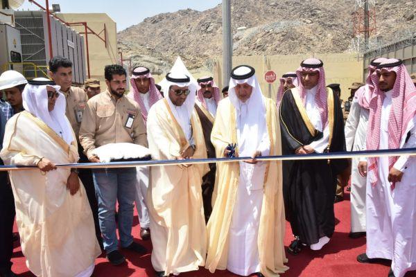 الكهرباء :الفيصل يفتتح محطة تحويل النسيم في مكة المكرمة