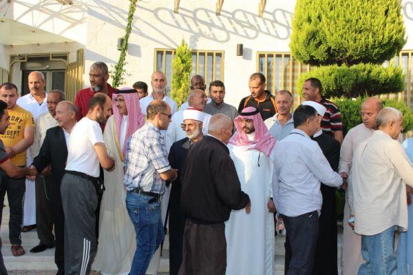 انطلاق بعثة حج الهيئة الهاشمية للمصابين العسكريين على نفقة خادم الحرمين الشريفين