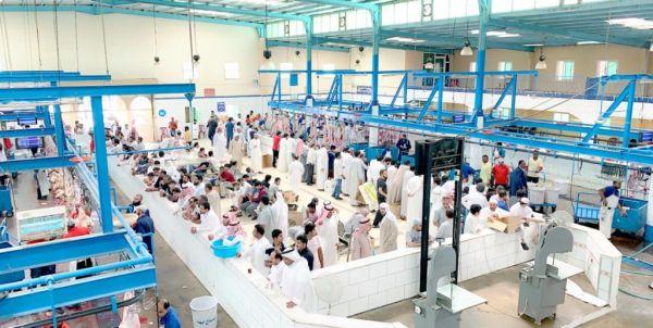 مسالخ أمانة عسير وبلدياتها تستقبل أكثر من 20الف أضحية خلال أيام عيد الأضحى