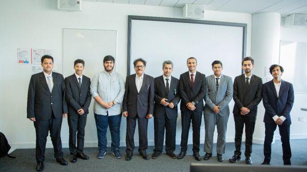 جامعة الملك خالد تدرب طلاب وطالبات قسم الإعلام والاتصال في بريطانيا والإمارات