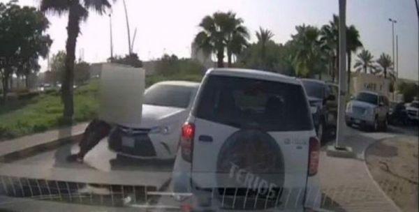 #جامعة_الملك_سعود تؤكد حادثة دهس مراقب المرور وتوضح التفاصيل