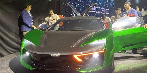 #معرض_الرياض_للسيارات يُطلق سيارة 2030 الوحيدة في العالم