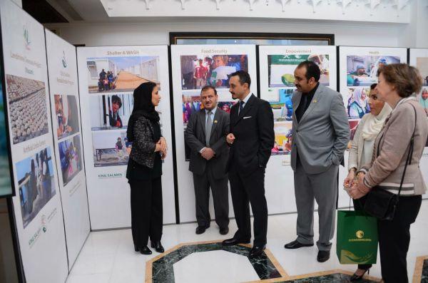 السفير السعودي في لندن يستقبل وفد مركز الملك سلمان للإغاثة والأعمال الإنسانية