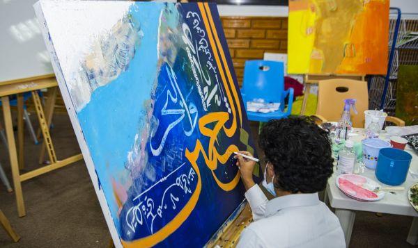 """اختتام فعالية """"علايا آرت"""" ضمن صيف #بلقرن 2020"""