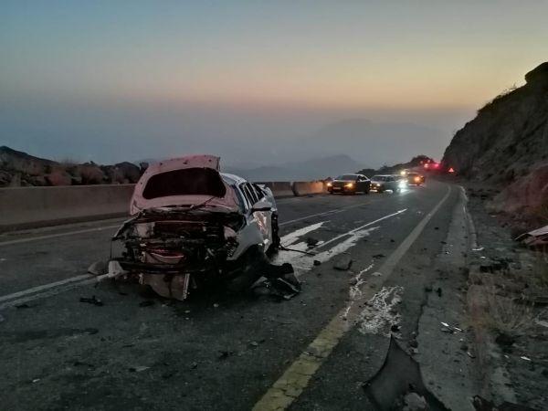 حادث انقلاب مركبة بعقبة حزنة في الباحة يُخلف 5 إصابات إحدها خطيرة
