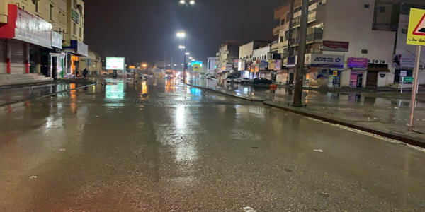 #أمانة_القصيم تُباشر معالجة مواقع تجمعات السيول وسط #بريدة