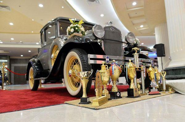 فرق السيارات الكلاسيكية في #القصيم تُشارك في فعاليات اليوم العالمي للسيارات الكلاسيكية