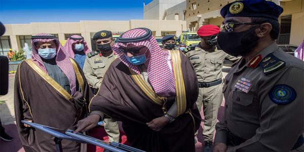 """سمو أمير القصيم يدشن فعاليات اليوم العالمي للدفاع المدني تحت شعار """"يد تبني ويد تحمي"""""""