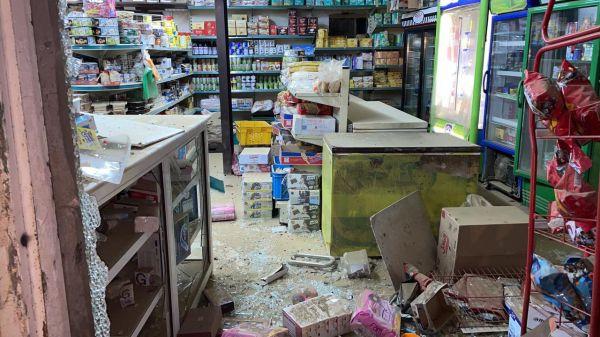#الدفاع_المدني : سقوط مقذوف عسكري أطلقته الميليشيا الحوثية الإرهابية على إحدى القرى الحدودية بمنطقة #جازان .