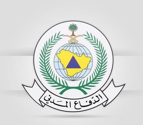 مدني عسير إصابة طفل ومواطن نتيجة سقوط شظايا طائرة مسيرة
