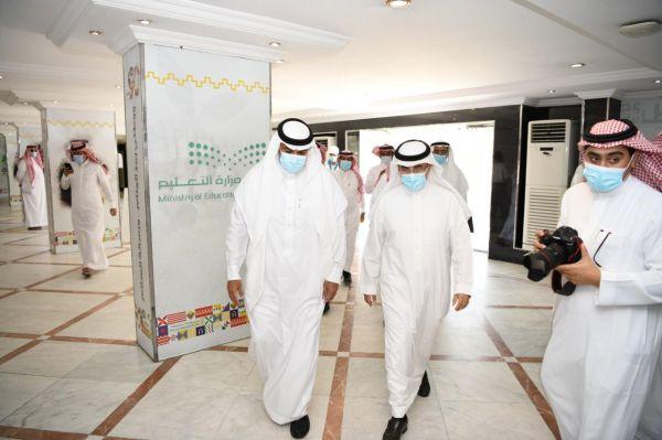 مساعد وزير التعليم يقف على منجزات ومشاريع تعليم مكة ويلتقي قياداته