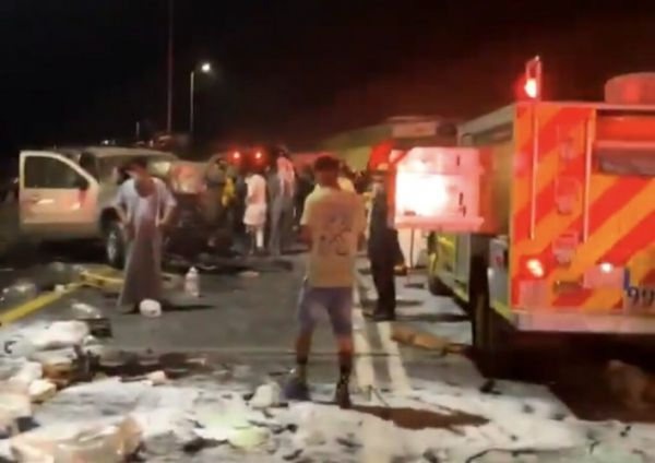 حادث تصادم بعقبة شعار في عسير يخلف وفاة وإصابة 6 أخرين