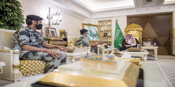 سمو أمير القصيم يستقبل قائد قوات الطوارئ الخاصة اللواء العمري