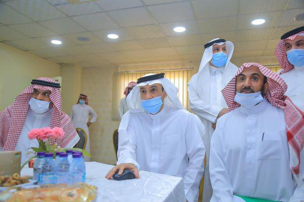محافظ #البكيرية يدشّن برامج التطوع في جمعية بنون لرعاية الأيتام