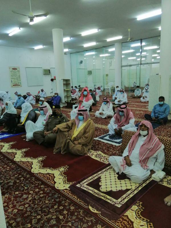 رئيس مركز ثلوث المنظر يتقدم المصلين بصلاة عيد الأضحى المبارك