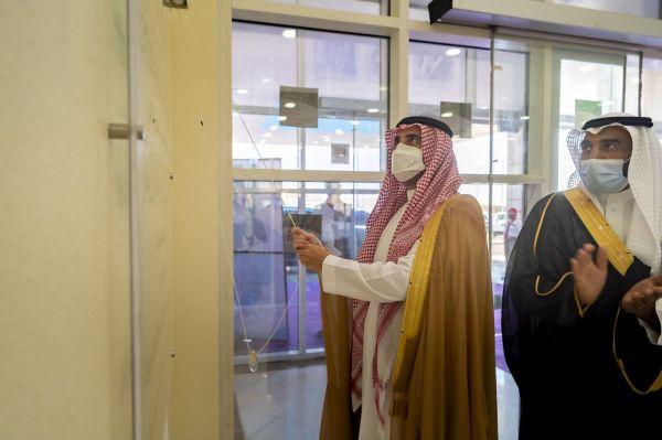 سمو أمير #الجوف يدشن مبنى تعليم القريات بتكلفة تجاوزت 27 مليون ريال