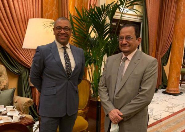 وزير #التعليم يلتقي وزير الدولة للشرق الأوسط بالخارجية البريطانية