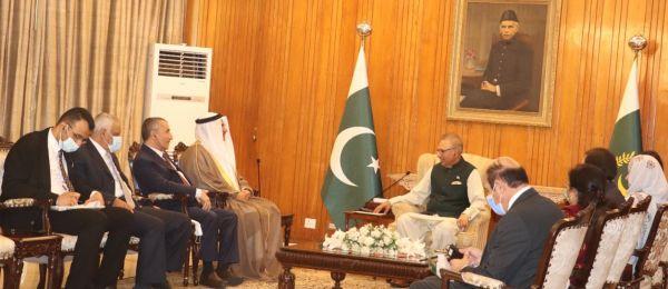 الرئيس الباكستاني :نقدر دور #البرلمان_العربي في تطوير العلاقات العربية مع باكستان ودفاعه عن القضايا العربية والإسلامية