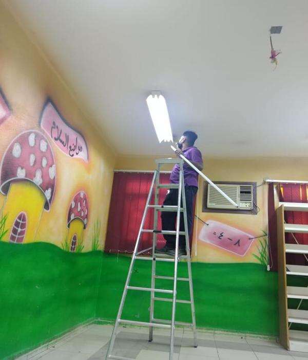 #تعليم_مكة يواصل صيانة وتهيئة 700 مدرسة إستعدادًا للعام الدراسي