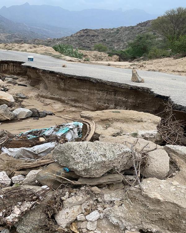 """""""وطنيات"""" ترصد اثار اضرار السيول بقُرى وادي الخير والأهالي يُناشدون #بلدية_بارق"""