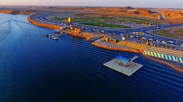 #الجوف :بحيرة دومة الجندل أكبر بُحيرة إصطناعية في الشرق الأوسط