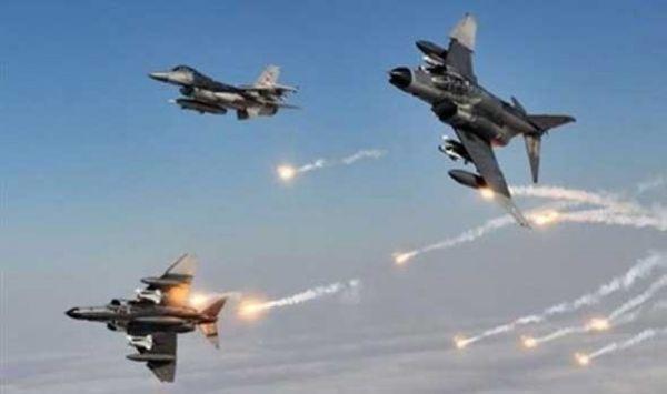 التحالف يُدمر عددًا من المواقع والأسلحة الحوثية في #مأرب