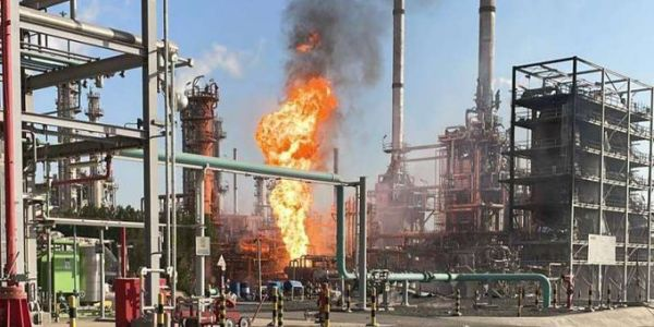 #الكويت :حريق في وحدة تابعة لمصفاة نفط بمصفاة الأحمدي دون وقوع إصابات