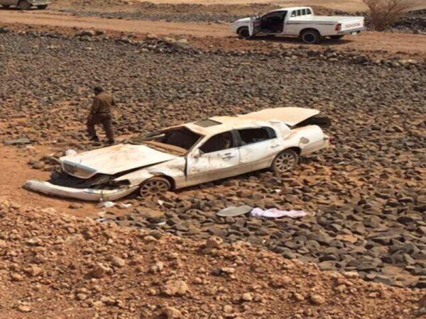 إصابة ثلاث معلمات وسائقهن بحادث تصادم بطريق المهد- الطائف