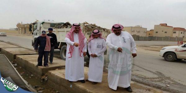 بلدية #حفر الباطن تكثف تواجد الفرق #الميدانية لمواجهة #موسم الأمطار