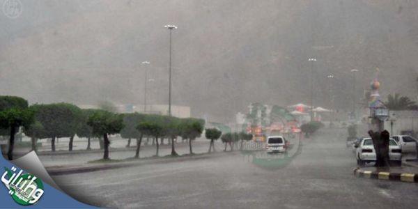 مدني #المدينة_المنورة يُباشر بلاغات احتجاز داخل المنازل جراء الأمطار