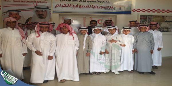 طلاب مدارس #محافظة_بدر يزورون مركز #الإسعاف