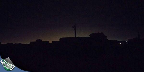 أمطار الأربعاء تقطع الكهرباء عن بعض أحياء #بريدة