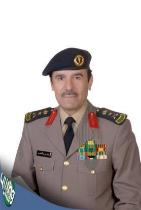 """مدير عام #الدفاع_المدني """"الفريق العمرو""""  يفتتح أعمال معرض السلامة"""