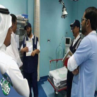 بالصور- مستشفى #محايل العام ينظم دورة عن الكوارث والأزمات