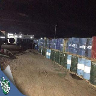 شرطة #جدة تضبط (7) من الجنسية الأسيوية يديرون مصنعاً للزيوت المغشوشة