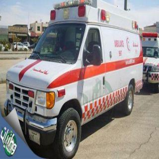 وفاة شاب وشقيقته في حادث تصادمع على لطريق الدولي غرب محافظة #العويقيلة