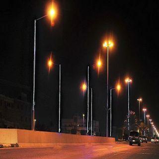 أمانة #نجران تطلق التيار الكهربائي في 184 عمود إنارة