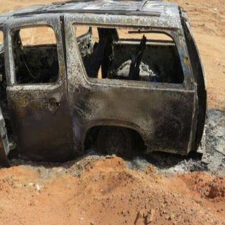 شرطة #القصيم توقع بمتهمين بسرقة وإحراق عددً من سيارات والسطو المسلح على عددمن المحطات