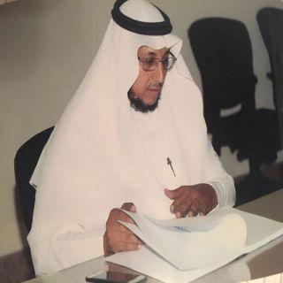 """""""الشهراني"""" يتلقى التهاني والتبريكات لحصوله على درجة الماجستير في القانون"""