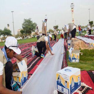مبادرة 100 شاب متطوع بهيئة الرياضة بالقصيم يُقدمون العديد من البرامج لخدمة المجتمع