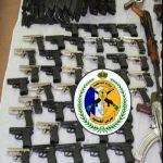 عسير - حرس الحدود بظهران الجنوب تحبط تهريب اسلحة وذخائر حية